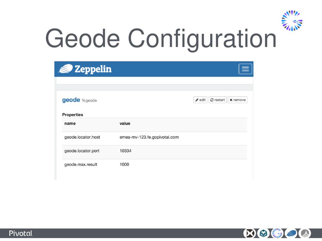 Geode Configuration