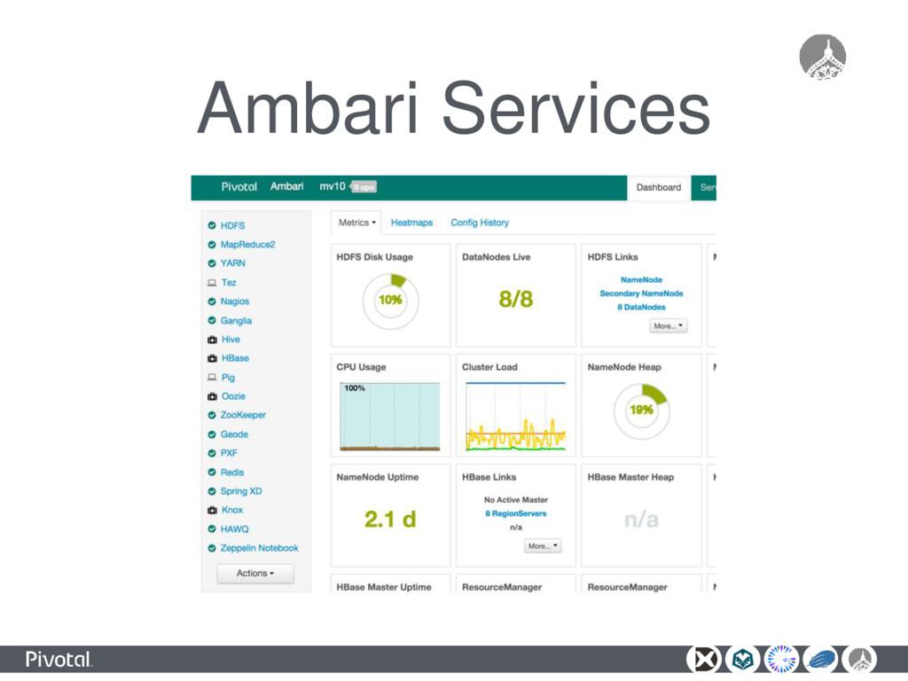 Ambari Services