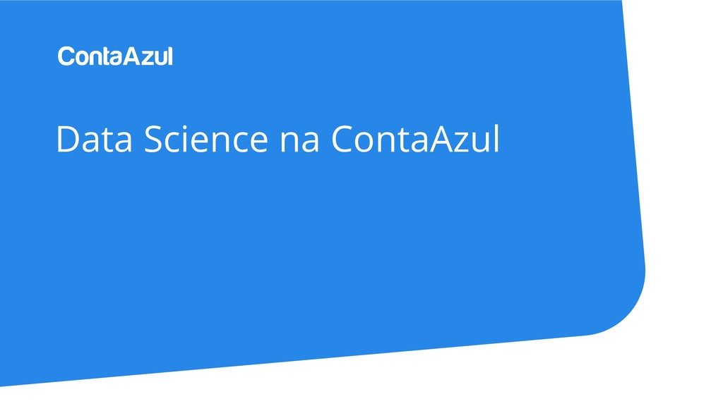 Data Science na ContaAzul