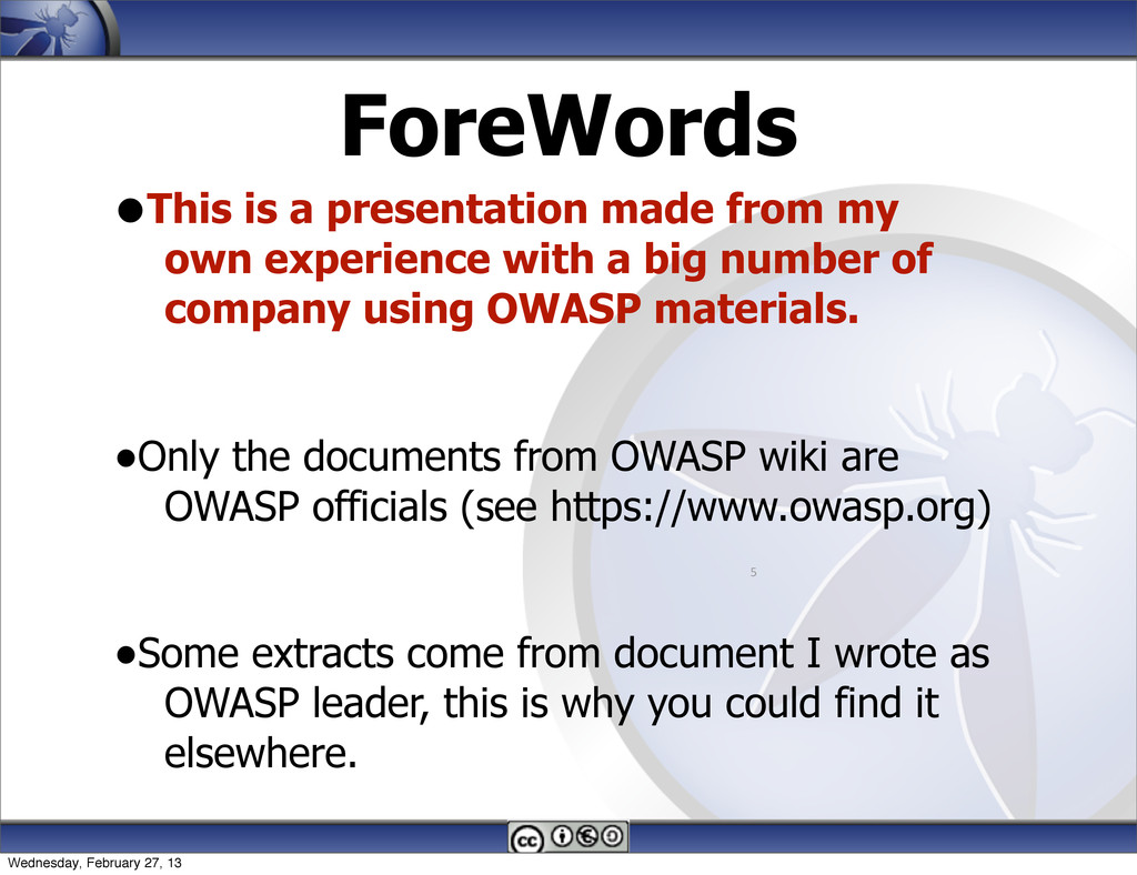 ForeWords •This is a presentation made from my ...