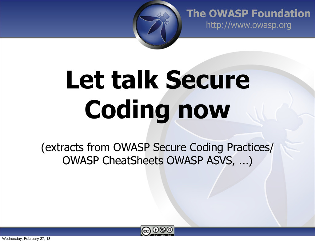 The OWASP Foundation http://www.owasp.org (extr...