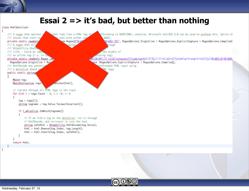 Essai 2 => it's bad, but better than nothing 13...