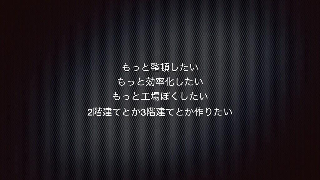 ͬͱ͍ͨ͠ ͬͱޮԽ͍ͨ͠ ͬͱΆ͍ͨ͘͠ 2֊ݐͯͱ͔3֊ݐͯͱ͔࡞Γ͍ͨ