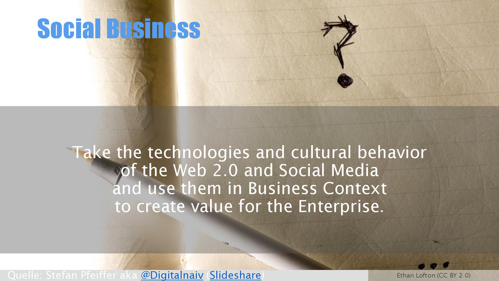Social Business Take the technologies and cultu...