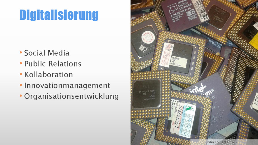 Digitalisierung • Social Media • Public Relatio...