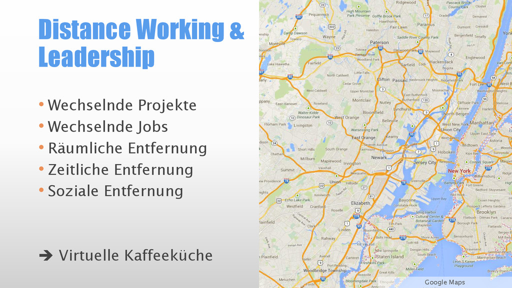 Distance Working & Leadership • Wechselnde Proj...