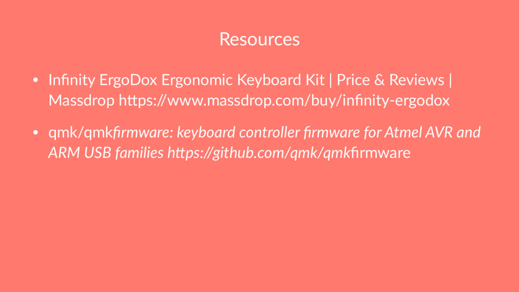 Resources • Infinity ErgoDox Ergonomic Keyboard ...