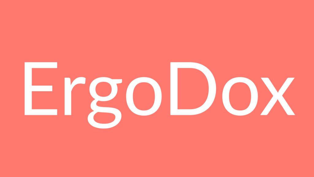ErgoDox