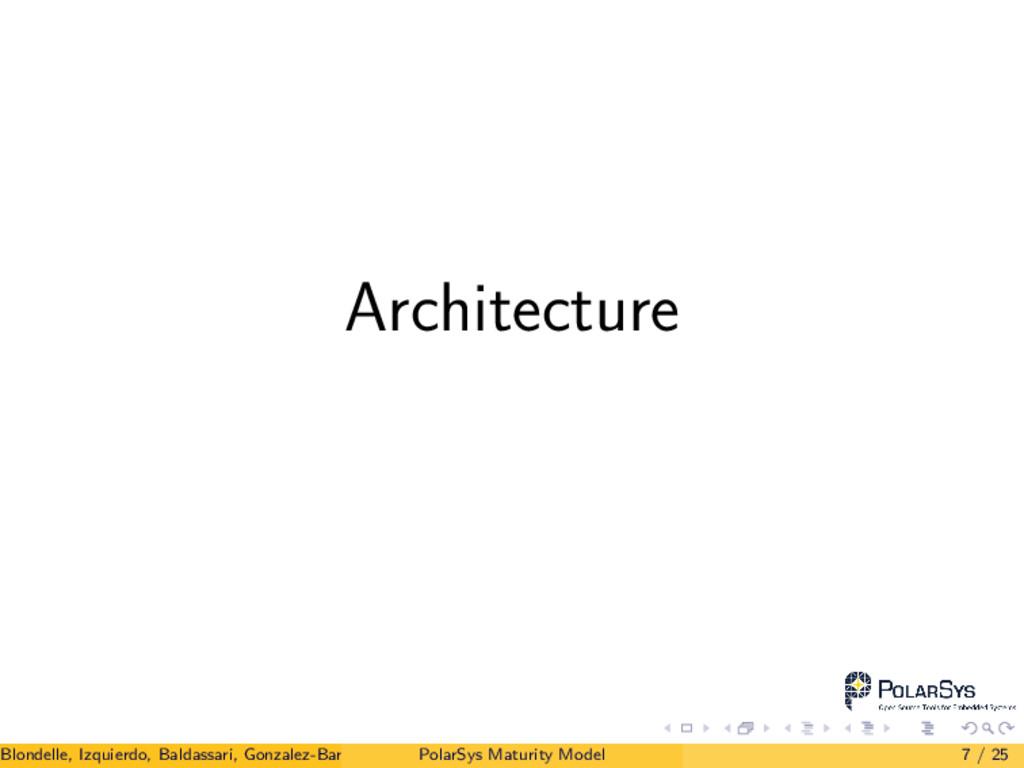 Architecture Blondelle, Izquierdo, Baldassari, ...
