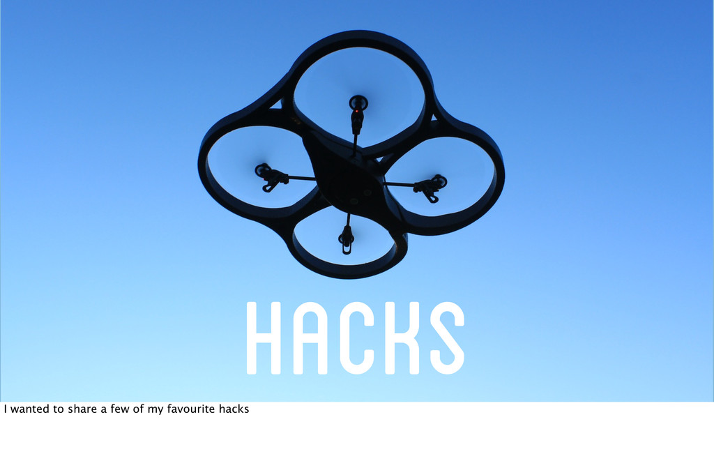 Hacks I wanted to share a few of my favourite h...