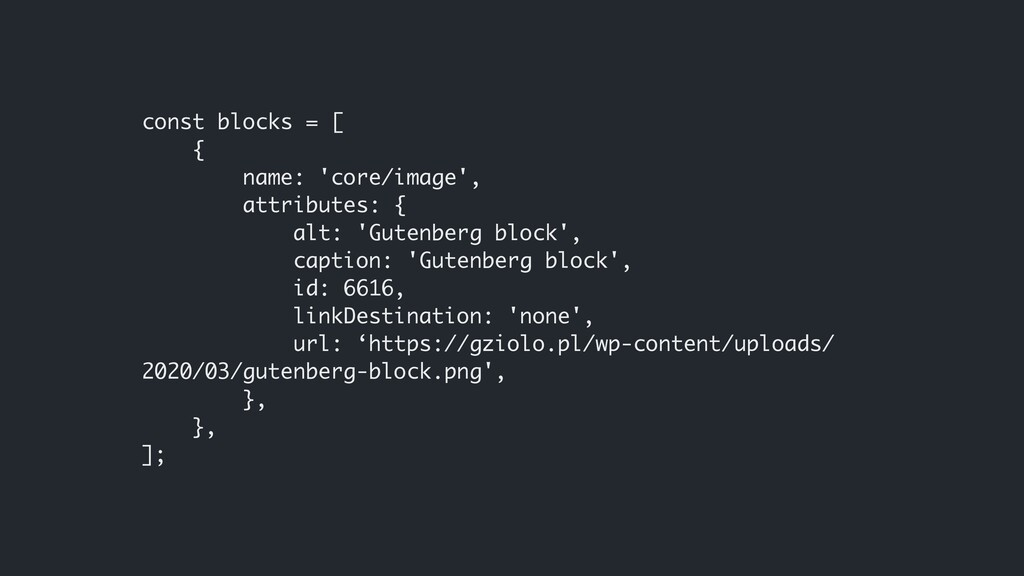 const blocks = [