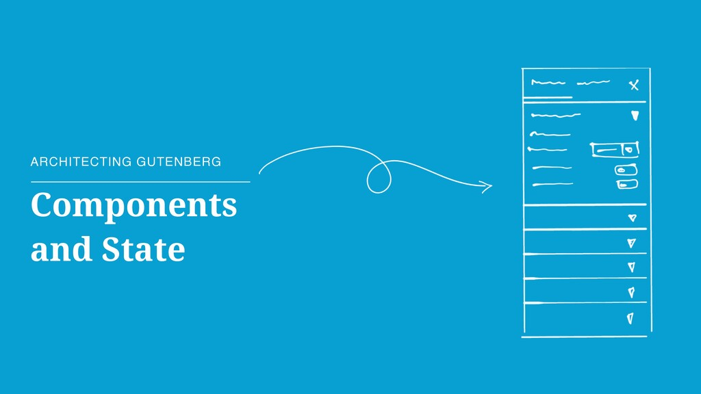 Components and State ARCHITECTING GUTENBERG