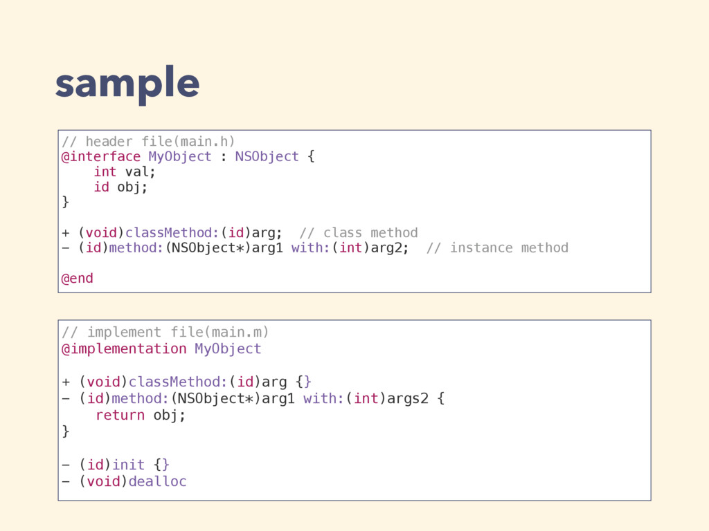 // header file(main.h) @interface MyObject : NS...