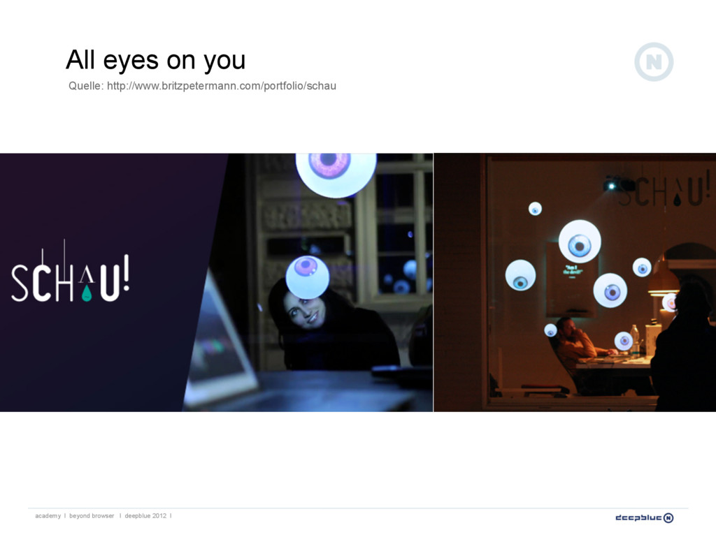 All eyes on you Quelle: http://www.britzpeterma...
