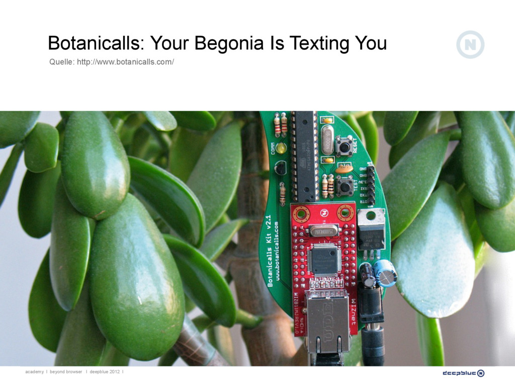 Botanicalls: Your Begonia Is Texting You academ...