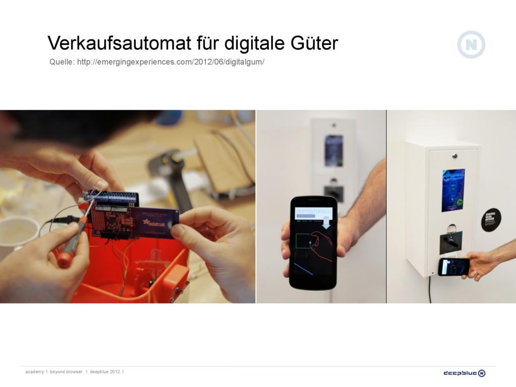 Verkaufsautomat für digitale Güter academy I be...