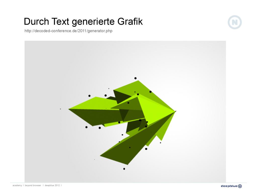 Durch Text generierte Grafik academy I beyond b...