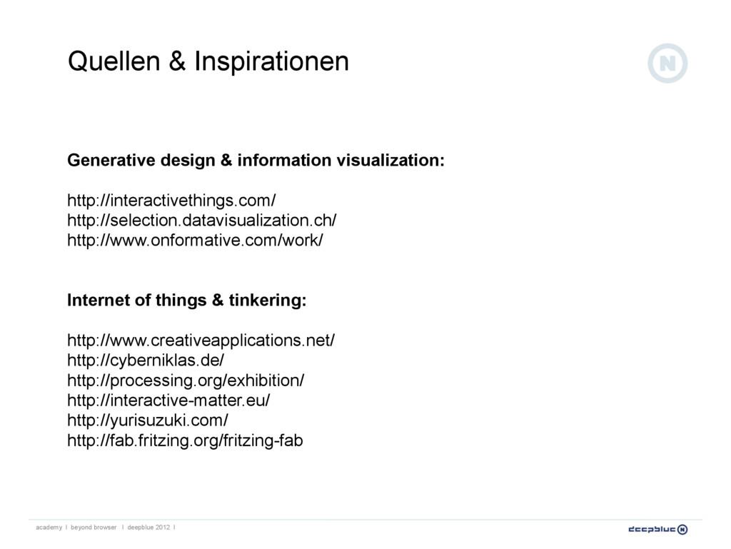 Generative design & information visualization: ...
