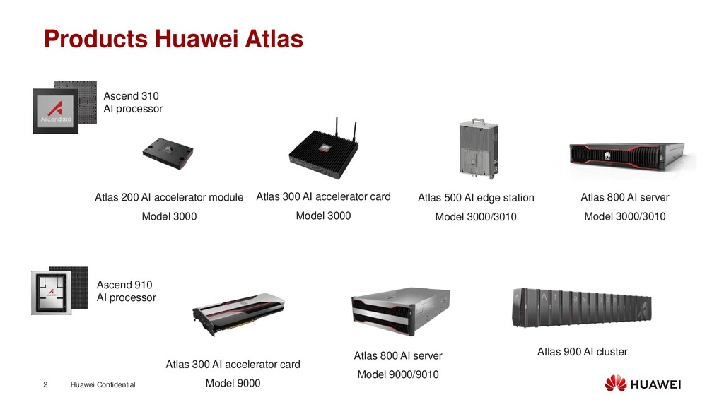 Huawei Confidential 2 Products Huawei Atlas Asc...