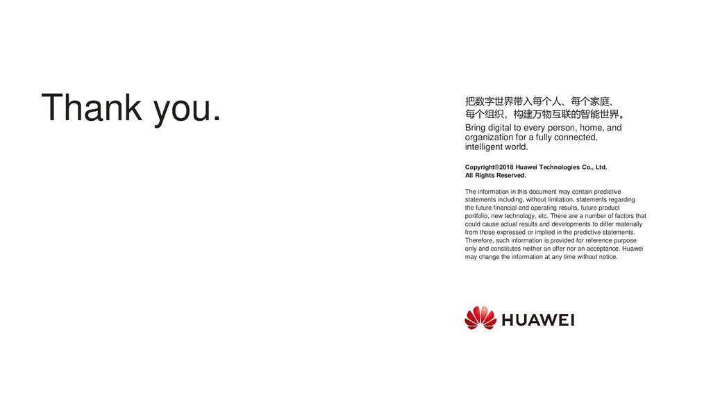 Copyright©2018 Huawei Technologies Co., Ltd. Al...