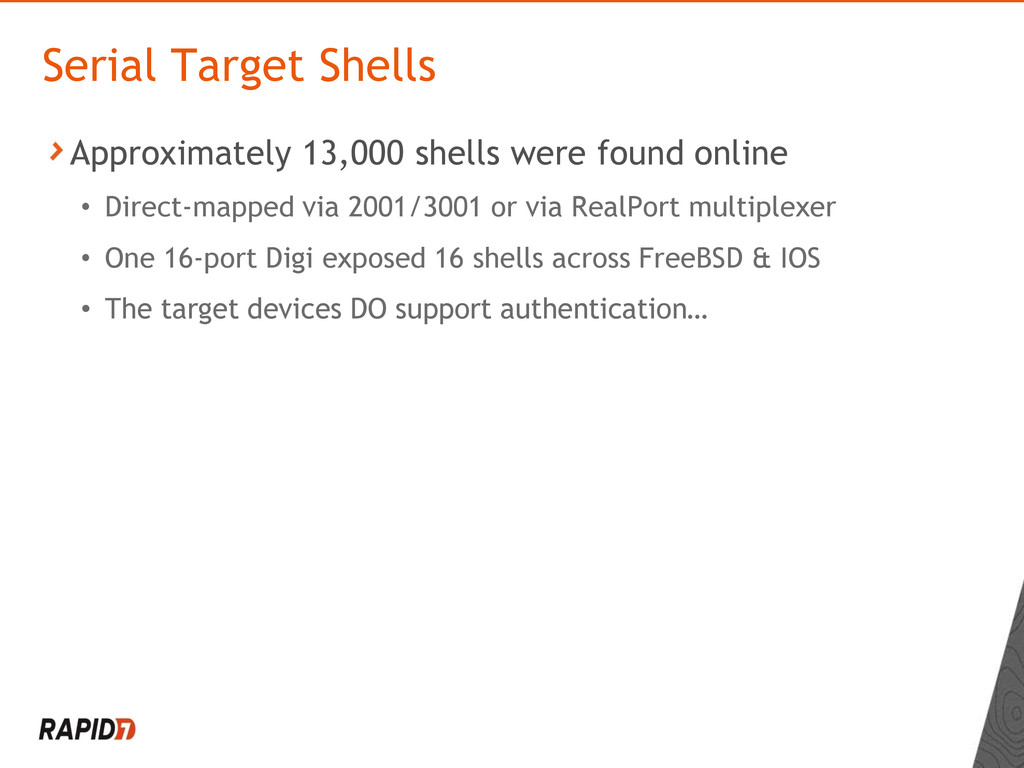 Approximately 13,000 shells were found online •...