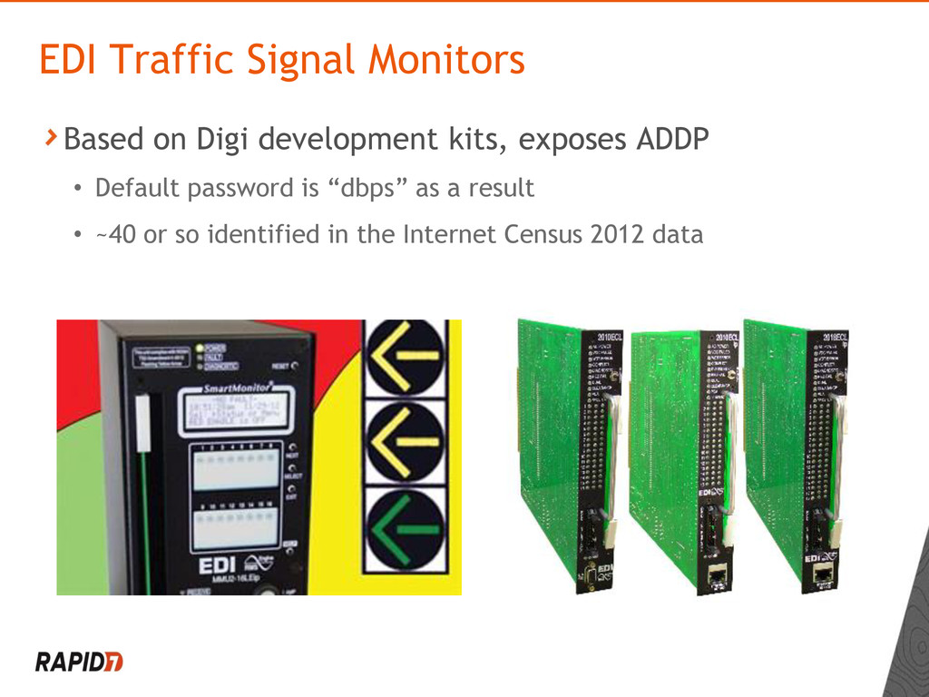 Based on Digi development kits, exposes ADDP • ...