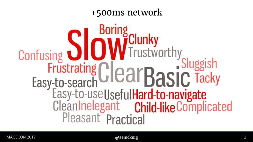 12 IMAGECON 2017 @aemcknig +500ms network