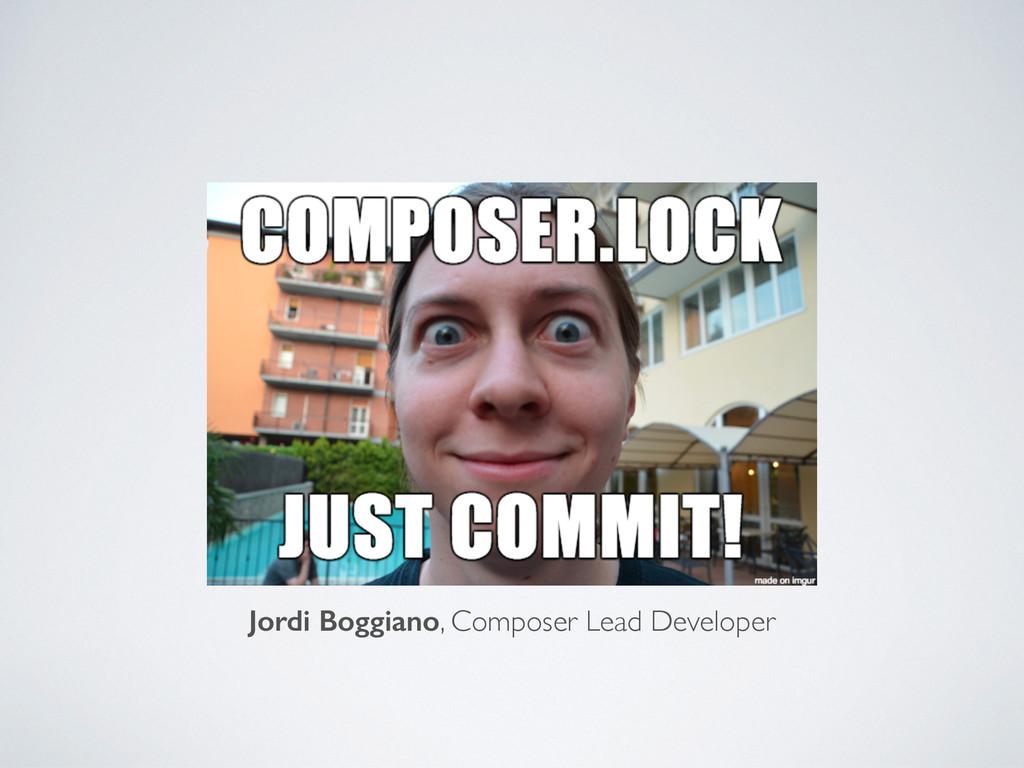 composer.lock Wer ignoriert es? (.gitignore) Jo...