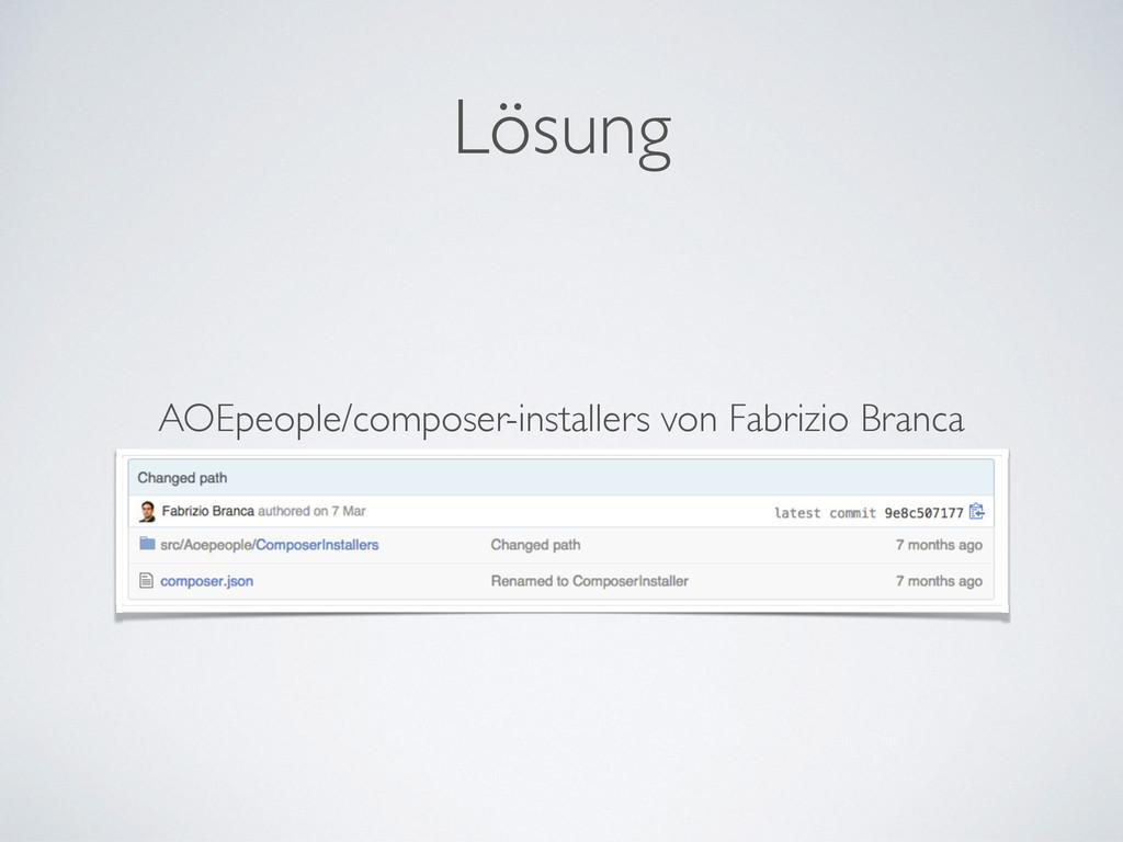 Lösung AOEpeople/composer-installers von Fabriz...