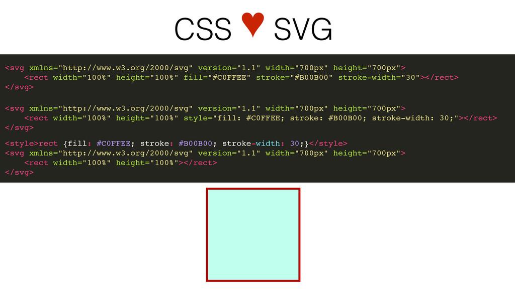 """CSS ♥ SVG <svg xmlns=""""http://www.w3.org/2000/sv..."""