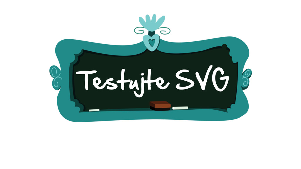 Testujte SVG