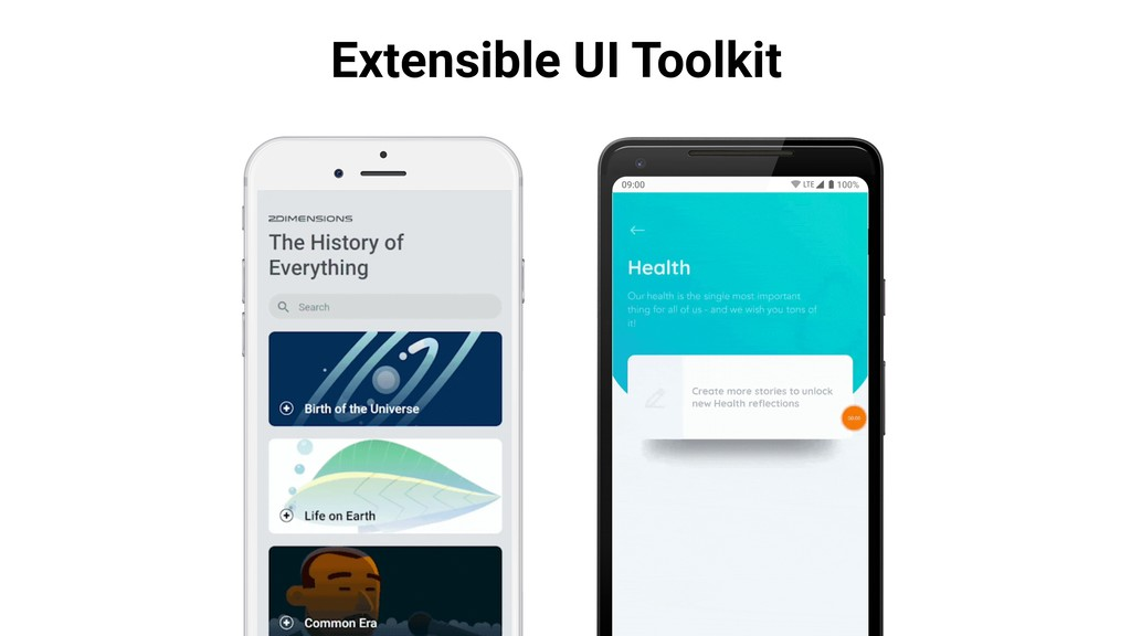 Extensible UI Toolkit
