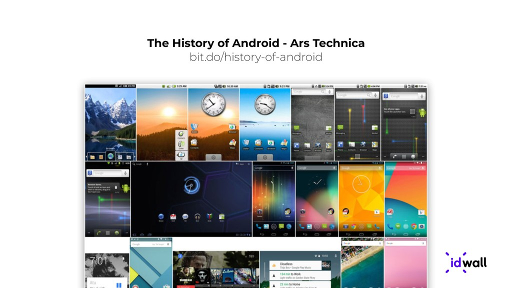 The History of Android - Ars Technica bit.do/hi...