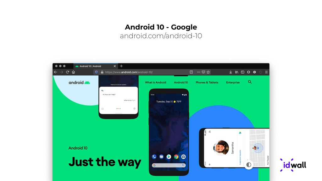 Android 10 - Google android.com/android-10