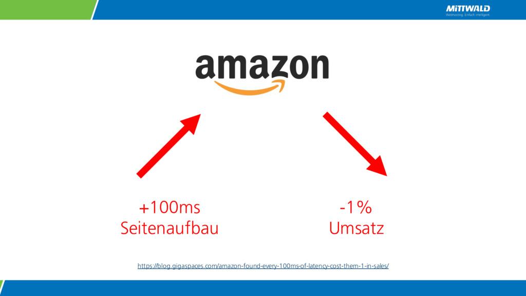 +100ms Seitenaufbau -1% Umsatz https://blog.gig...