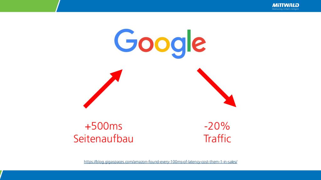 +500ms Seitenaufbau -20% Traffic https://blog.g...