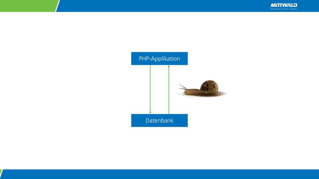 PHP-Applikation Datenbank