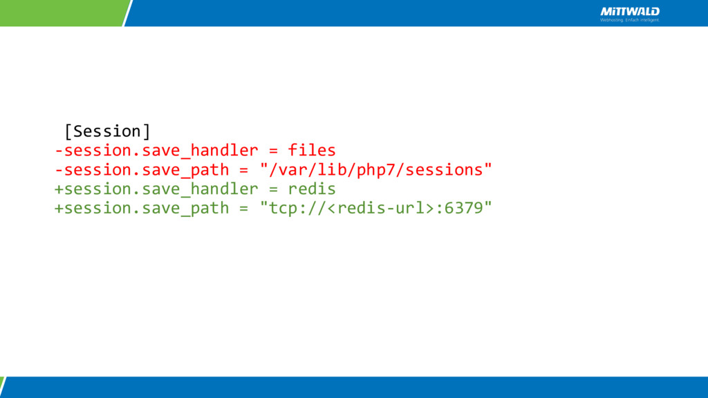 [Session] -session.save_handler = files -sessio...