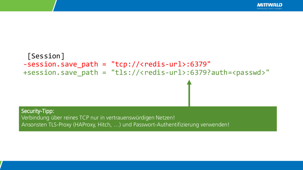 "[Session] -session.save_path = ""tcp://<redis-ur..."