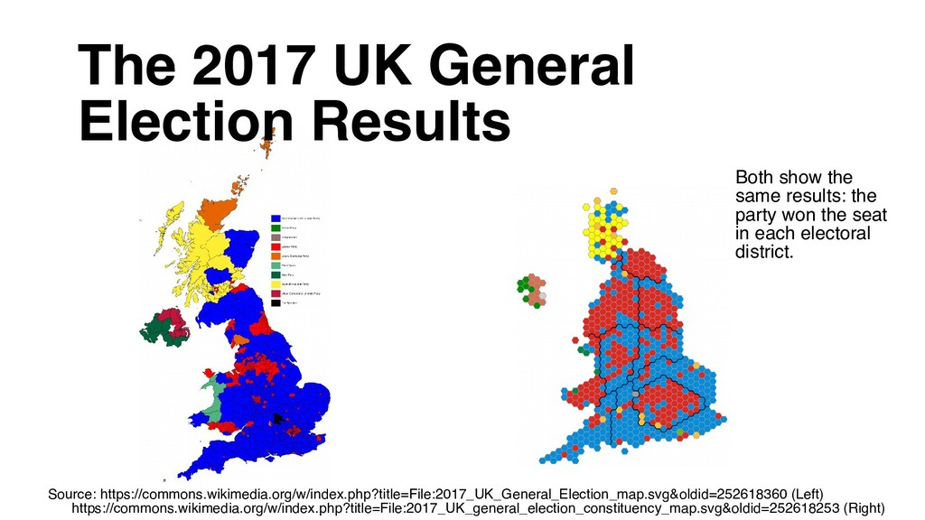 The 2017 UK General Election Results Source: ht...