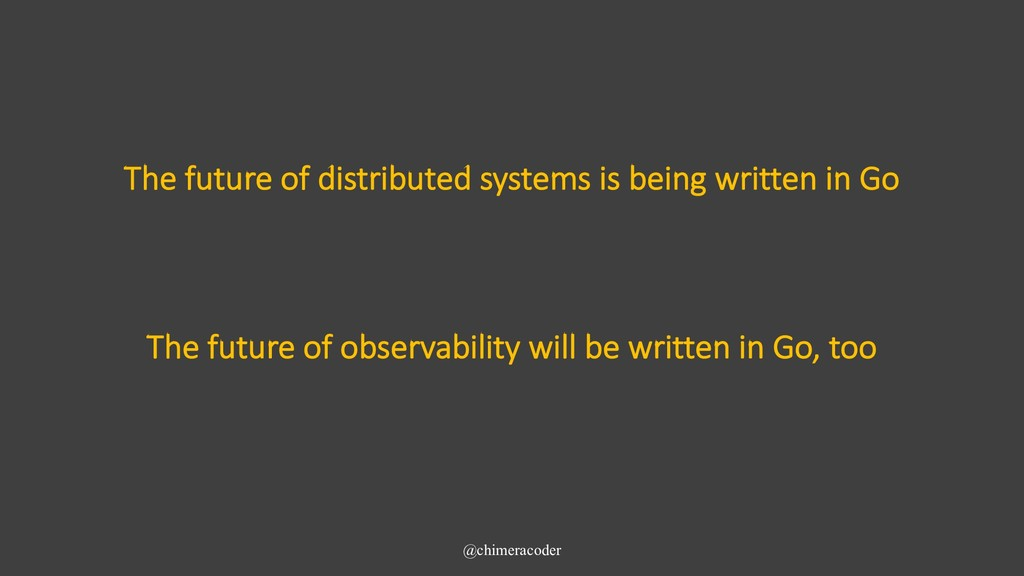 The future of distributed systems is being writ...
