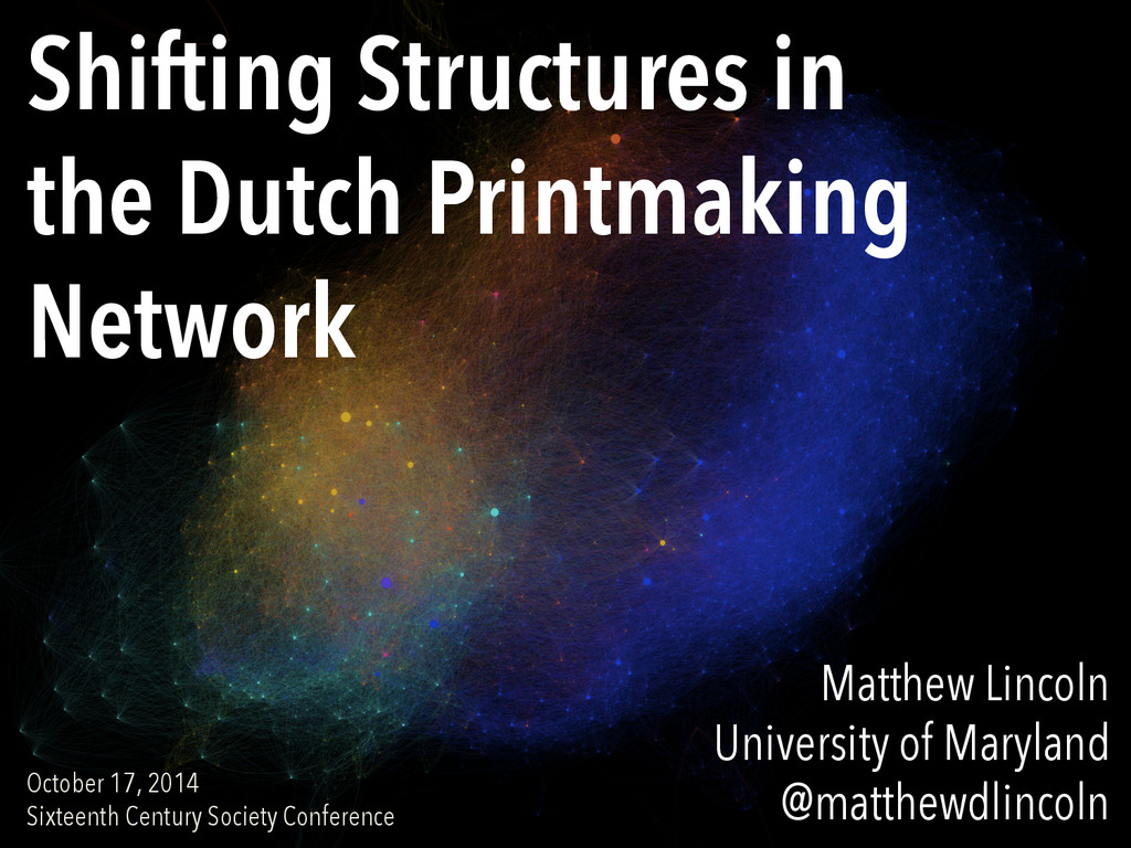 Shifting Structures in the Dutch Printmaking Ne...
