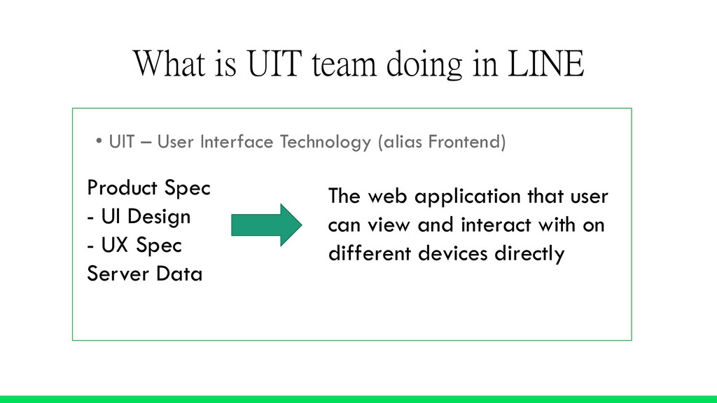 • UIT – User Interface Technology (alias Fronte...