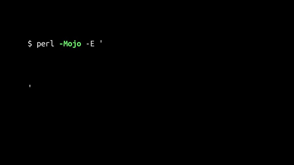 "$ perl -Mojo -E ' say g(""https://act.yapc.eu/gp..."