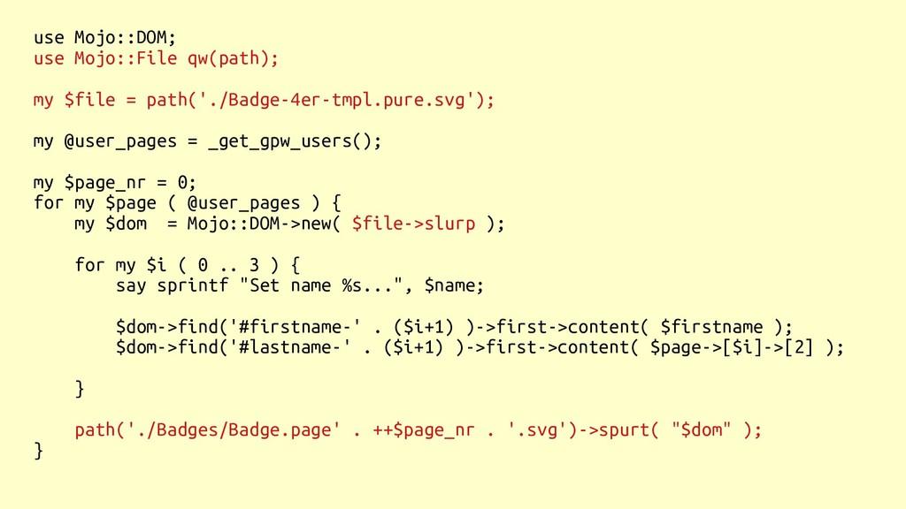 use Mojo::DOM; use Mojo::File qw(path); my $fil...