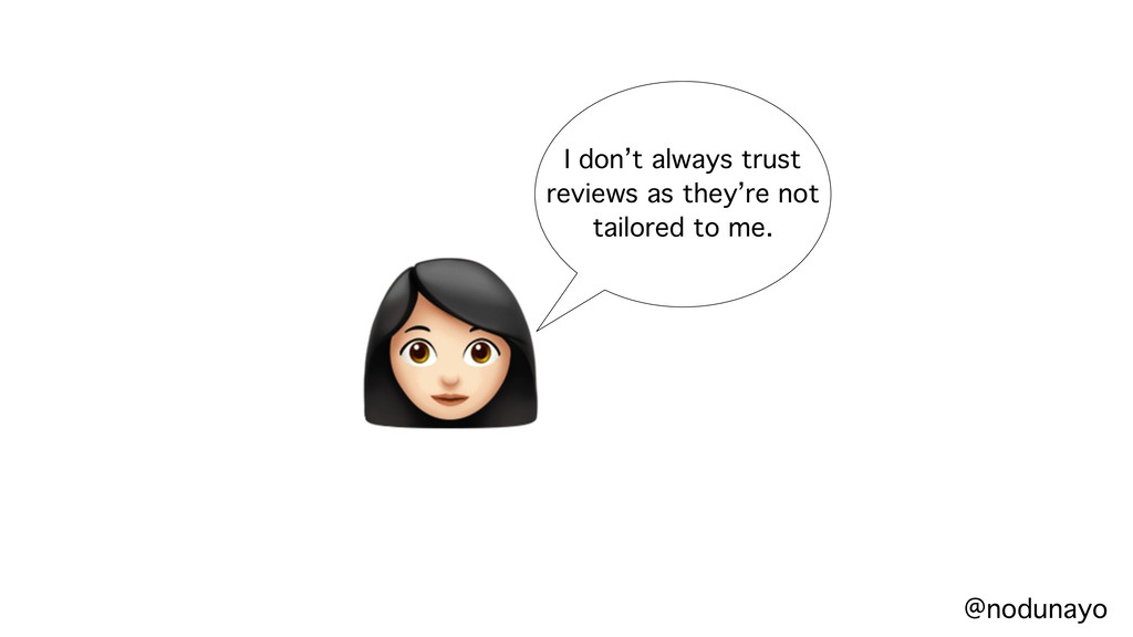 # I don't always trust reviews as they're not t...