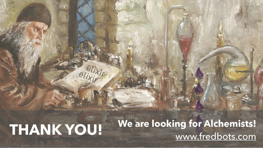 We are looking for Alchemists! www.fredbots.com...