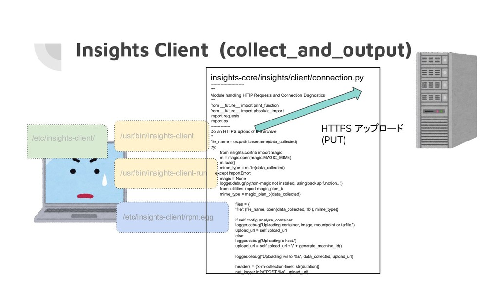 Insights Client (collect_and_output) /usr/bin/i...