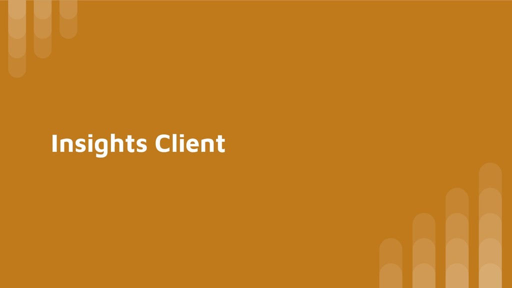 Insights Client