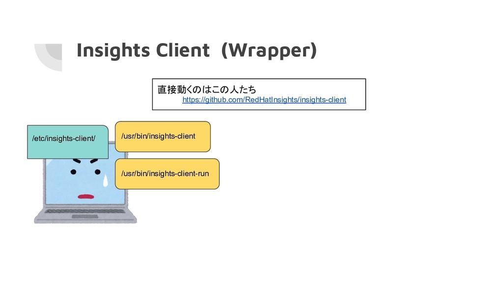Insights Client (Wrapper) /usr/bin/insights-cli...